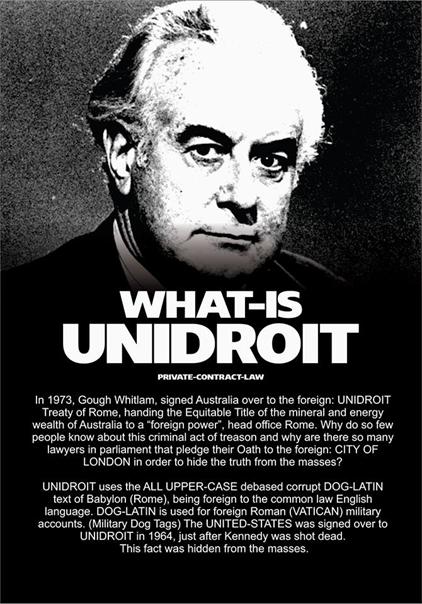 What is UNIDROIT?