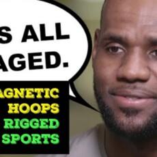 Magnets In NBA Rims & Balls