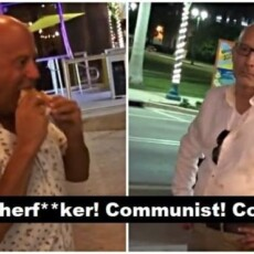 VIRAL VIDEO: 2 Losers Eating Pizza Hurl Anti-Asian Slurs At Ramen Restaurant Owner In Florida
