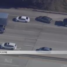 LIVE: Cops in pursuit of vehicle in East LA