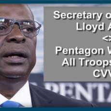 Pentagon Will Order All Troops To Get CVV's By Sept.15