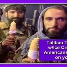 Taliban Troll Biden On TWITTER By Posing With Ice Cream [Video]