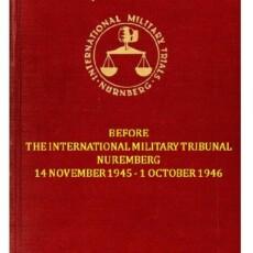 TRIAL of THE MAJOR WAR CRIMINALS.