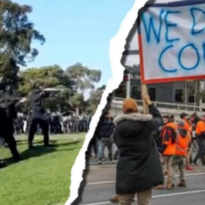 Despite Horrifying State Violence, Brave Australians Continue to Resist COVID Police State — Nwo Report