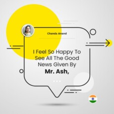 I Feel So Happy To See All The Good News Given By Ash, Sir