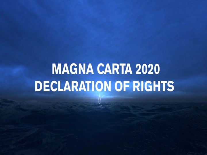 7 Questions Arising From Magna Carta 2020 - Declaration of Rights