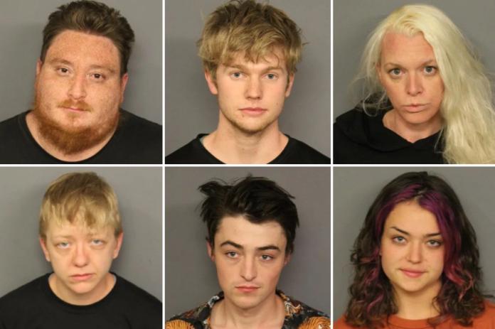 Mug shots of 6/7 adults arrested in Denver