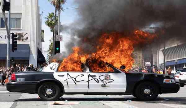 Democrats Election 2020 Riots BLM