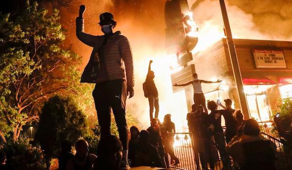 Democrats BLM riots election 2020 Trump Biden