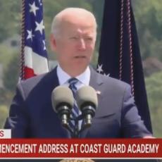 Biden Tells Unamused U.S. Coast Guard Graduates They Are 'Really Dull'