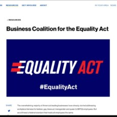 Big Business Sides With Leftists In Pushing Highly Destructive 'Equality Act'