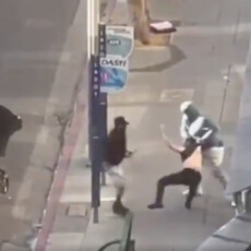 CAUGHT ON VIDEO: Family With 2-Year-Old Threatened at Gunpoint, Father Shot & Pistol-Whipped in Downtown LA