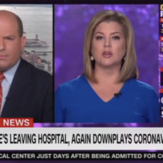 CNN's Brian Stelter Claims Trump 'Recommends Getting Sick' In Latest Health Update