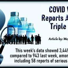 COVID Vax Injury Reports Among Teens Triple in 1 Week