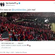 Dan Scavino Sends Rally Tease – Did Someone Say Rally?