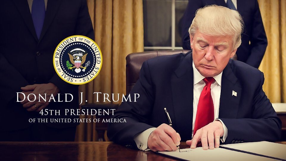 Donald J. Trump - 45th President of the United States