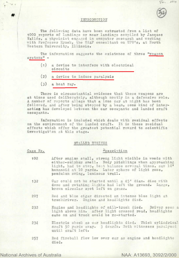 Declassified Australian UFO report involves 'cat-faced' & dwarf aliens 50 | TweakTown.com