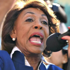 Democrat Rep. Maxine Waters Demanded Special Police Motorcade And Escort Before Calling For Violence At Anti-Police Event