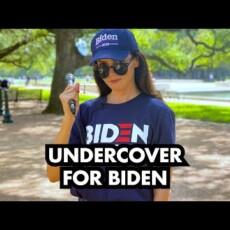 Desperate search for Biden supporters…