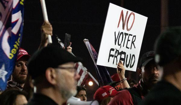 Voter Fraud DHS software 2020 Election Trump Biden
