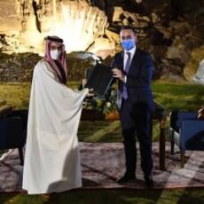 «Diálogo estratégico» entre a Itália e a Arábia Saudita