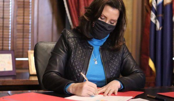 Governor Gretchen Whitmer Michigan COVID relief bill