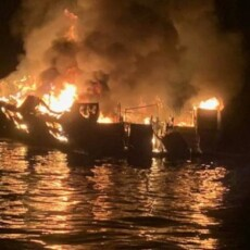 Dive boat captain charged with 34 counts of seaman's manslaughter in deadly boat fire off California