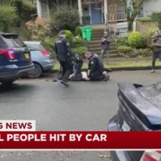 Driver kills 1, injures 5 other pedestrians in Portland, police say