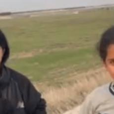 EXCLUSIVE VIDEO: Unaccompanied Migrant Children Search for Border Patrol in South Texas
