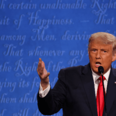 Fact Check: Trump Accurately Said Virus Spike Dropped After Moderator Said U.S. Heading into 'Dangerous' Phase