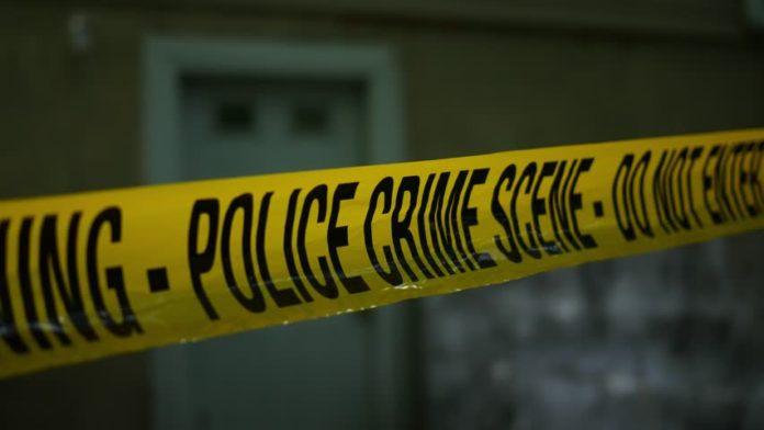 police active crime scene tape