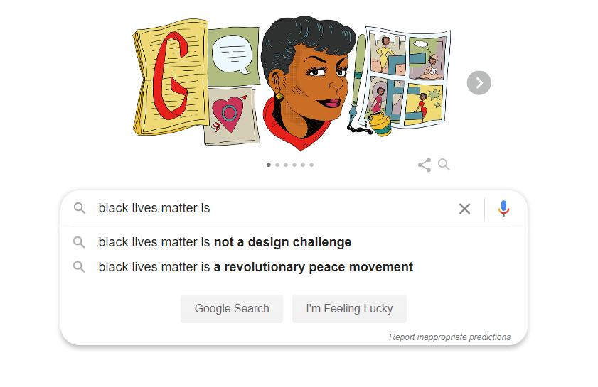blm Google