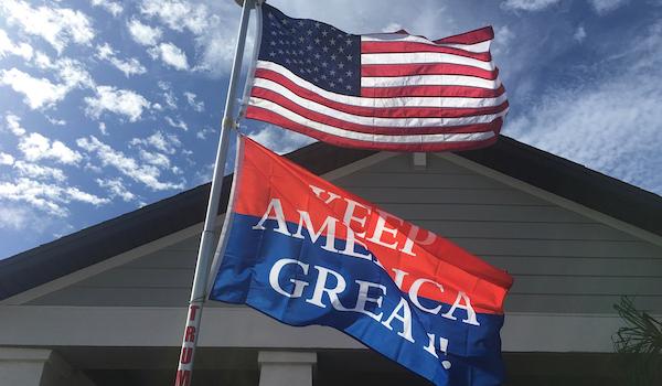Keep America Great Flag Trump