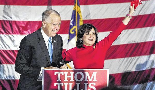 Thom Tillis Cunningham Senate race election 2020 North Carolina