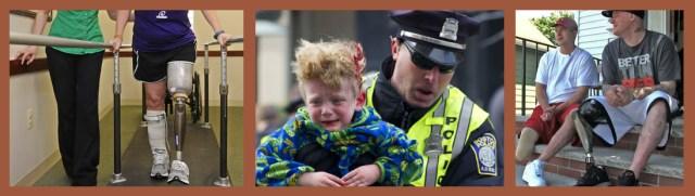Photos shown to the jury, in US v Tsarnaev