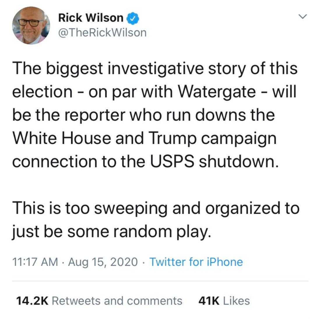 USPS conspiracy