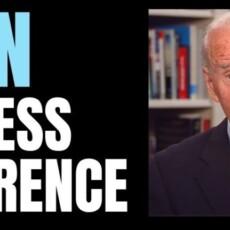 Joe Biden Holds His First Press Conference – 1:15pm ET Livestream