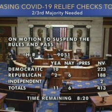 LIVE: House Votes On $2,000 Stimulus Check Bill