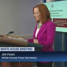 LIVE: White House Press Secretary Jen Psaki holds news conference