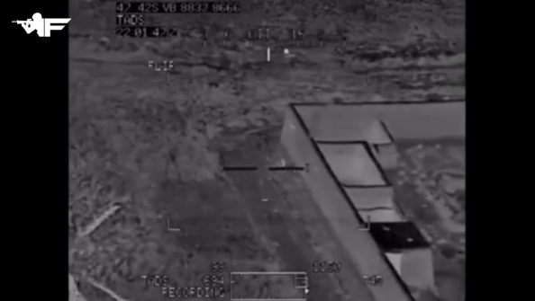Taliban fighter shoots at Apache helicopter