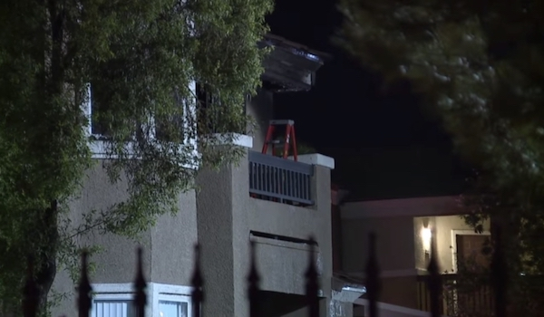 las vegas baby thrown from balcony