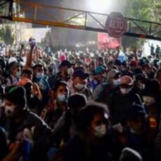 Migrant Caravan in Guatemala Pushes Through Border from Honduras — Heading to U.S.A.