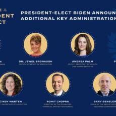 NEW: Biden Announces More Key Administration Posts