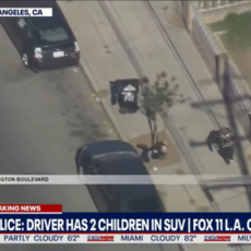 """""""OH WOW!"""" Watch The End To This Crazy Police Chase in California"""