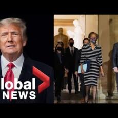 Phony melodramatic impeachment walk…