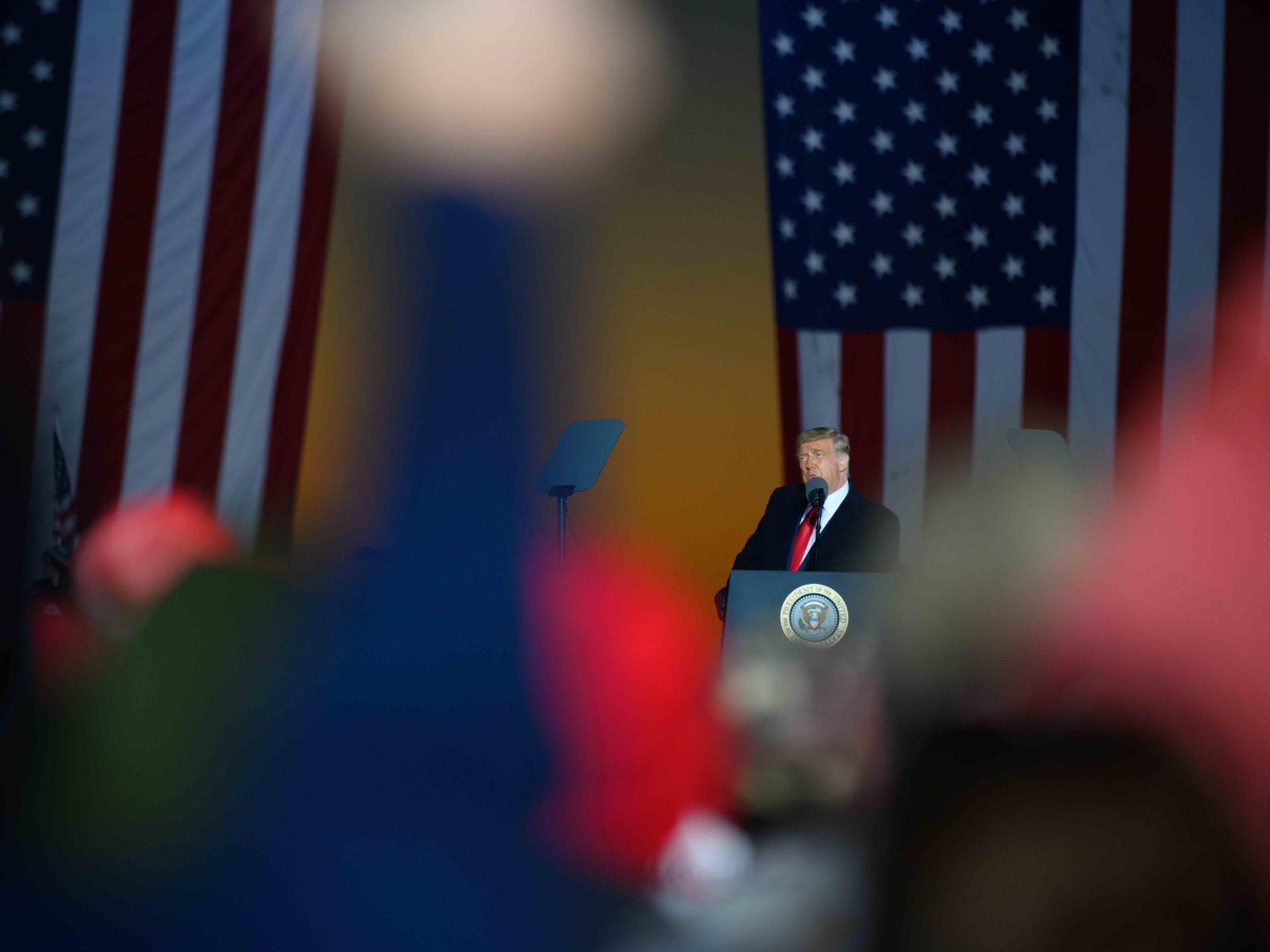 Trump addresses Butler (Jeff Swensen / Getty)