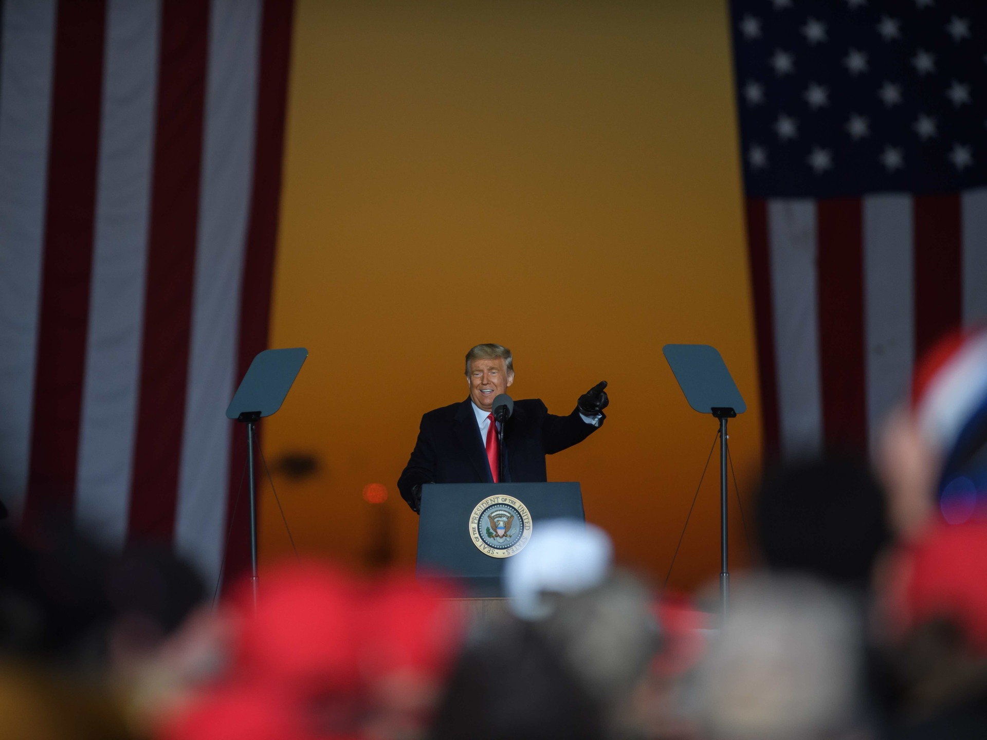 Trump in Pennsylvania (Jeff Swensen / Getty)