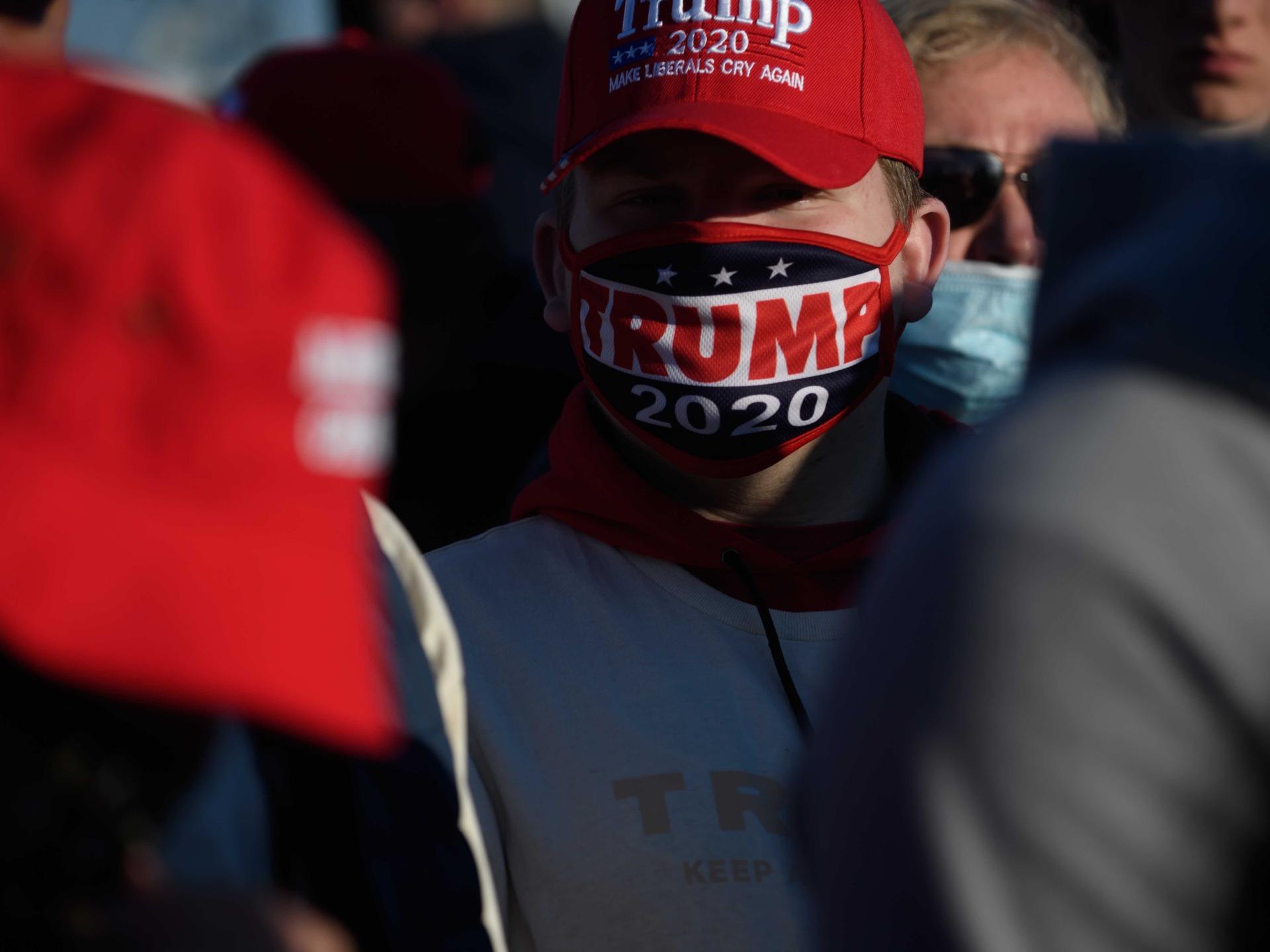 Trump supporter at Butler (Jeff Swensen / Getty)