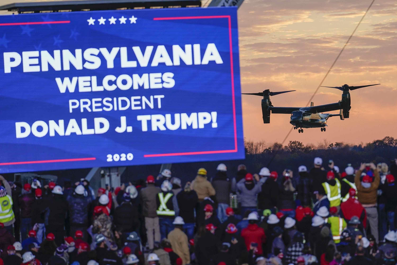 Election 2020 Trump (Keith Srakocic / Associated Press)