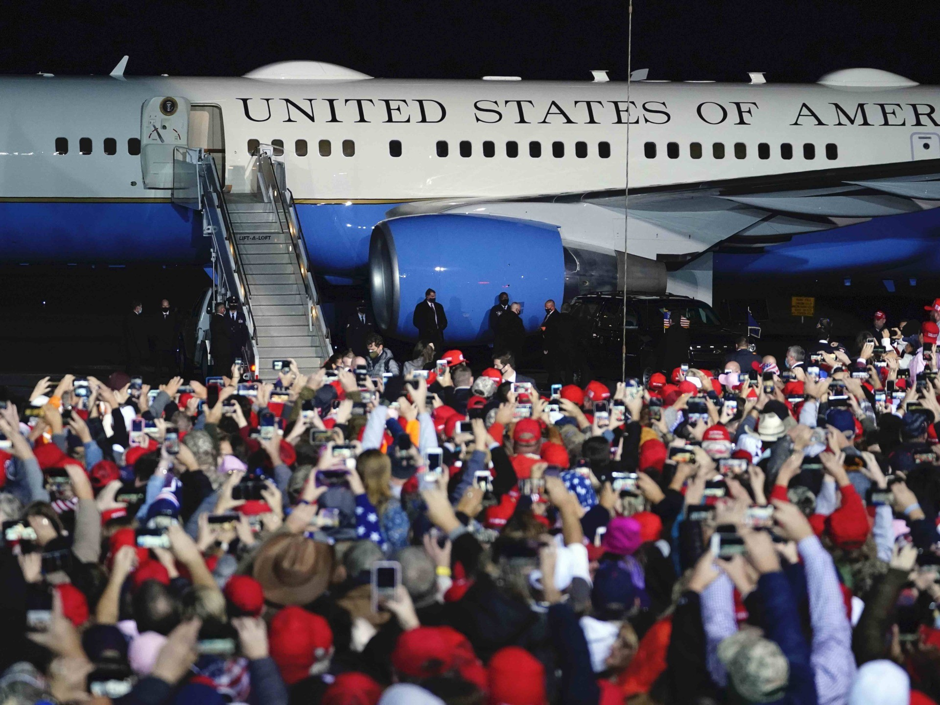 Air Force One (Brynn Anderson / Associated Press)